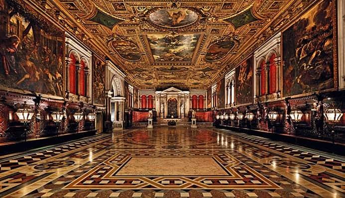 טיול בונציה בגשם