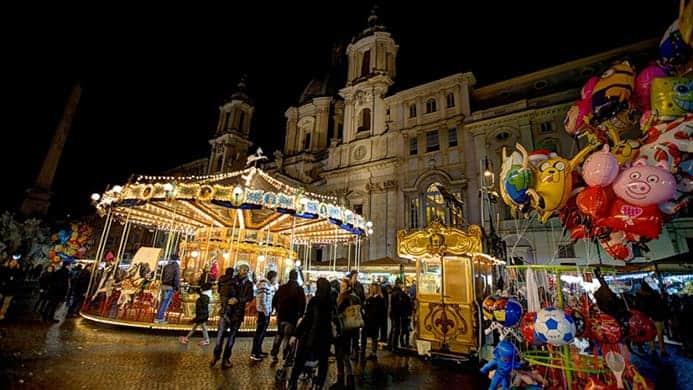חופשה ברומא בחורף