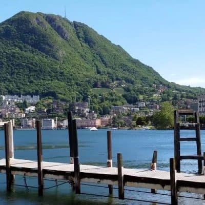 אגם לוגאנו שוויץ