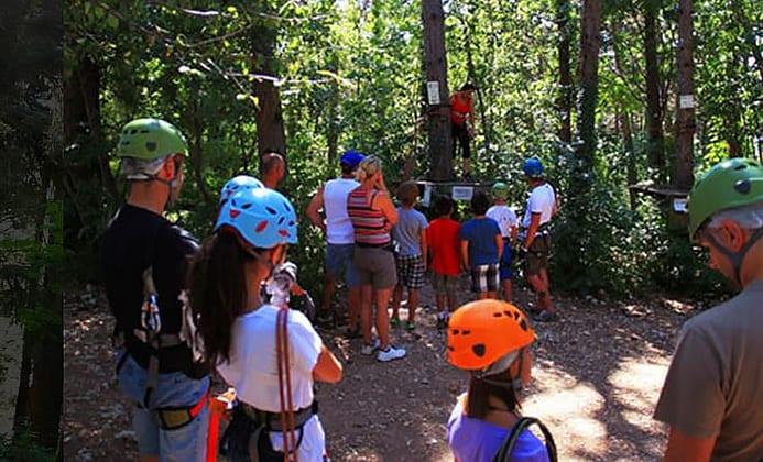 טיול עם ילדים בפארק חבלים - ג׳ונגל אדוונצ׳ר
