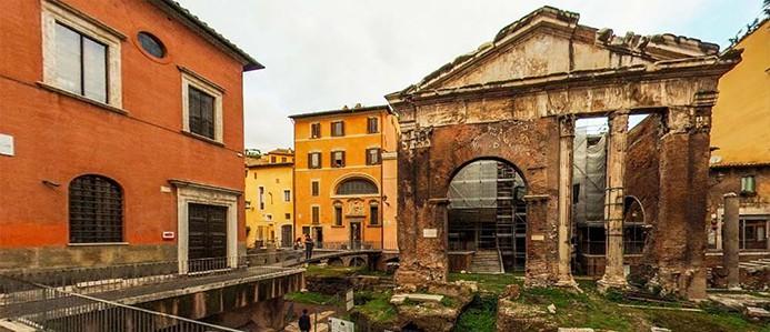 איך להגיע לרובע היהודי ברומא