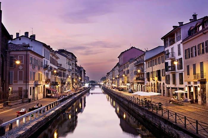 קניות בערב במילאנו