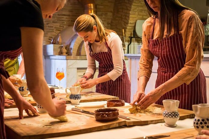סדנאות בישול באיטליה