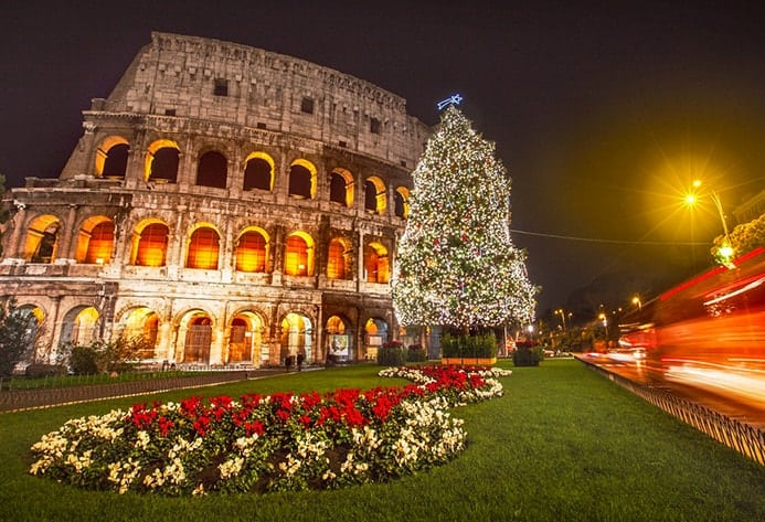 אטרקציות של רומא בחורף