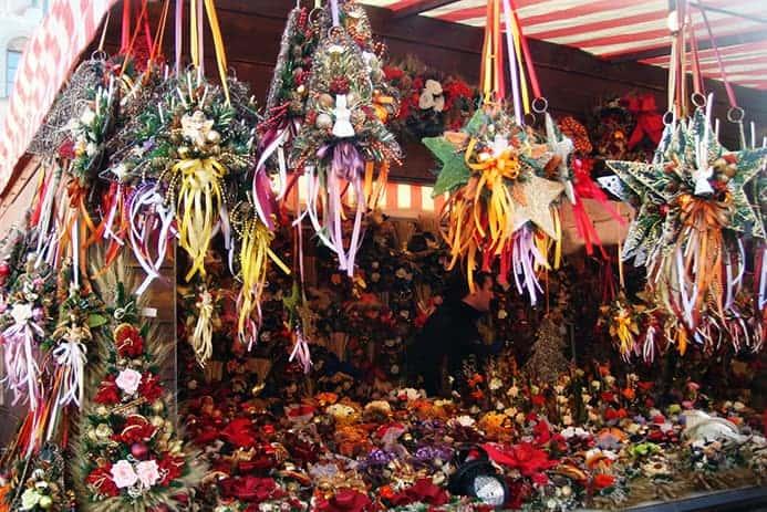 שווקים באיטליה בכריסמס