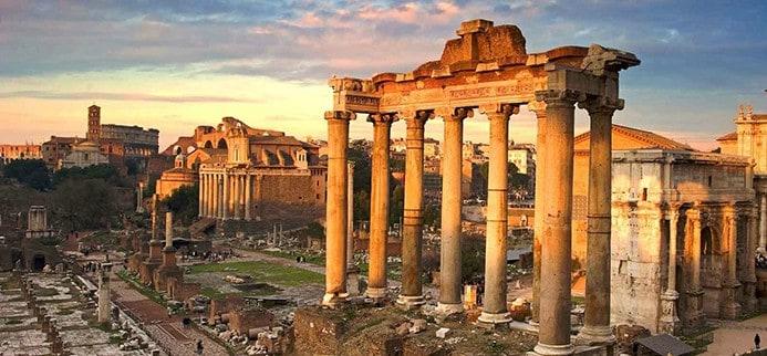 כתובת של הפורום הרומאי