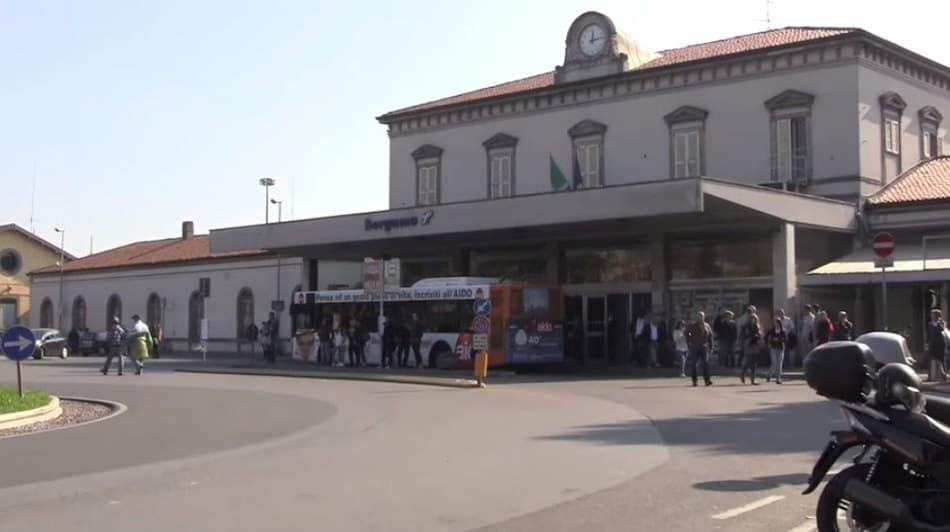 תחנת רכבת ברגמו איטליה