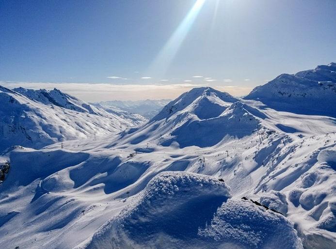 אתרי סקי בעמק אאוסטה