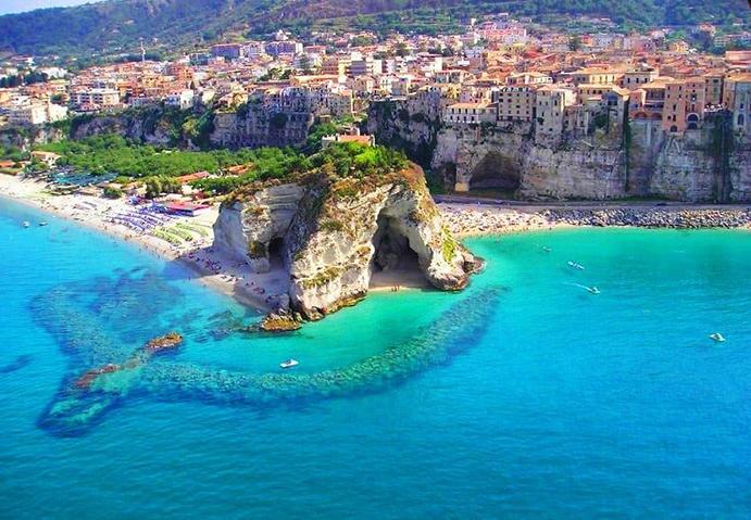 חופש בדרום איטליה