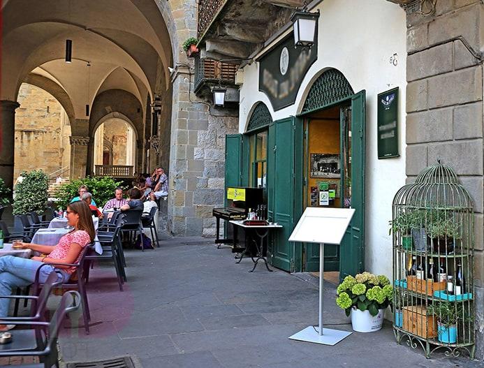 בתי קפה ומסעדות מומלצות בברגאמו